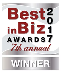 Best in Biz 2017 Awards 7th Annual Winner Logo